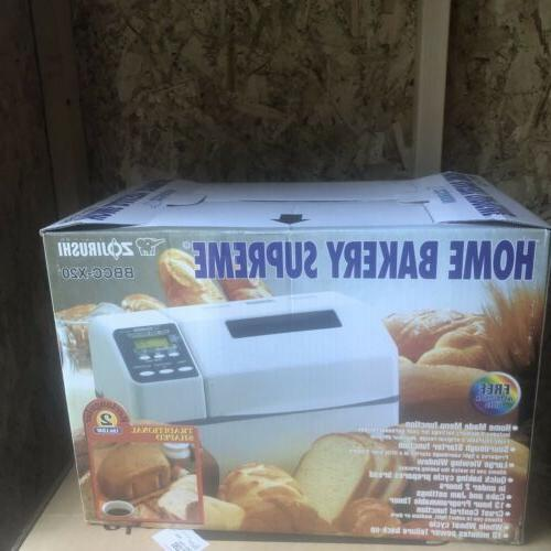bbcc x20 bread maker machine home bakery