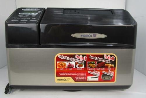 Zojirushi 2-Pound-Loaf Bread Machine