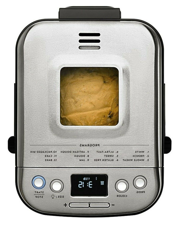 BRAND Cuisinart CBK-110 2-Pound Compact Maker