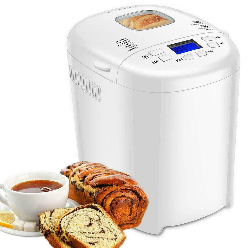 AOLIER Bread Machine 14-in-1 Bread Maker with Stainless Steel
