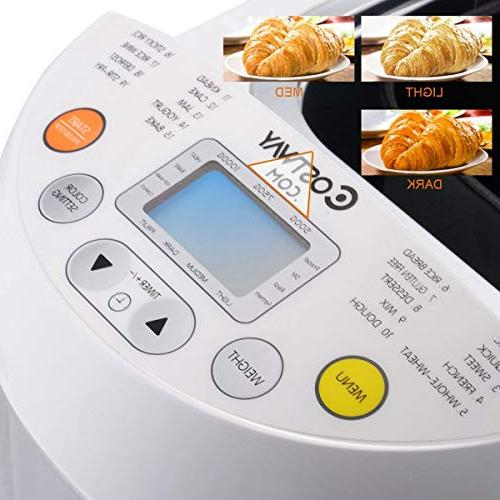 Bread Steel 550W Programmable Breadmaker