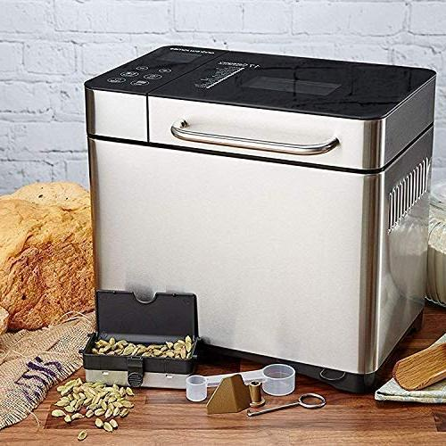 KBS Machine, 2LB Convection Bread Maker with Version Display Ceramic