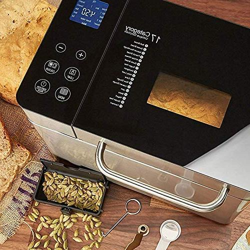 KBS 2LB Convection with Version 17 Menus Gluten Large Display Screen, Ceramic Pan, Stainless Steel