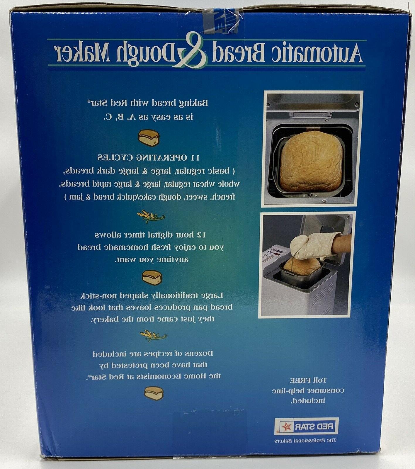 Red BM-735 Bread Maker Brand Sealed