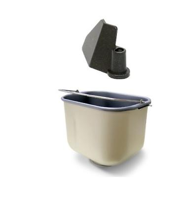 bread machine paddle and pan for black