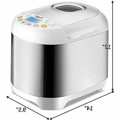 Bread Maker Automatic 19 Multifunctional With