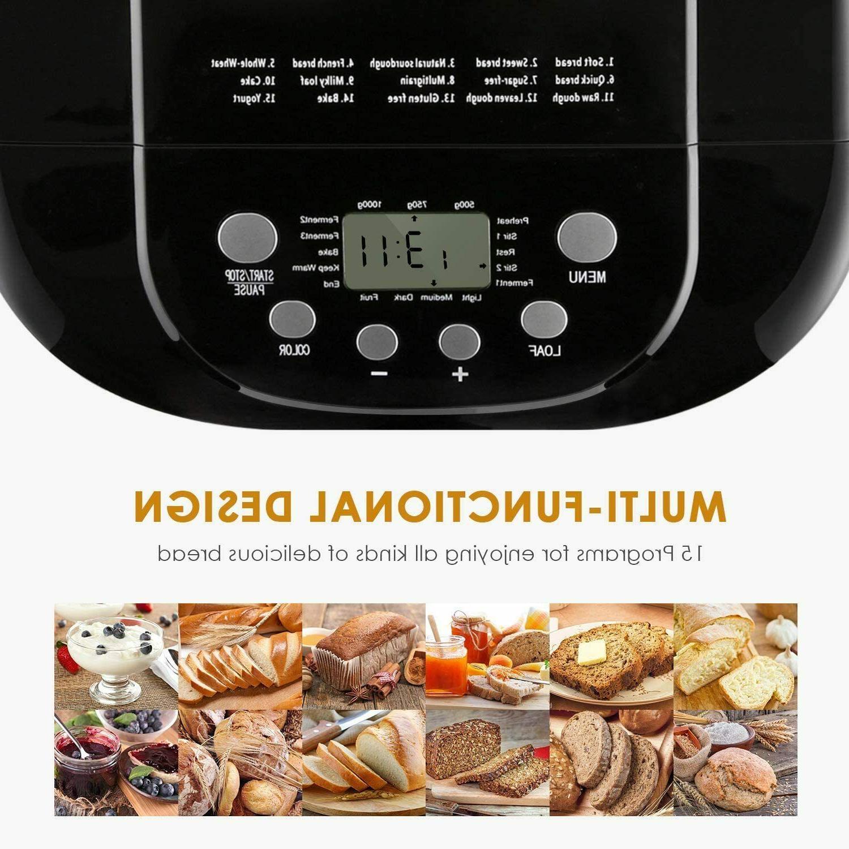Bread Maker Automatic Bread Size Gluten Free