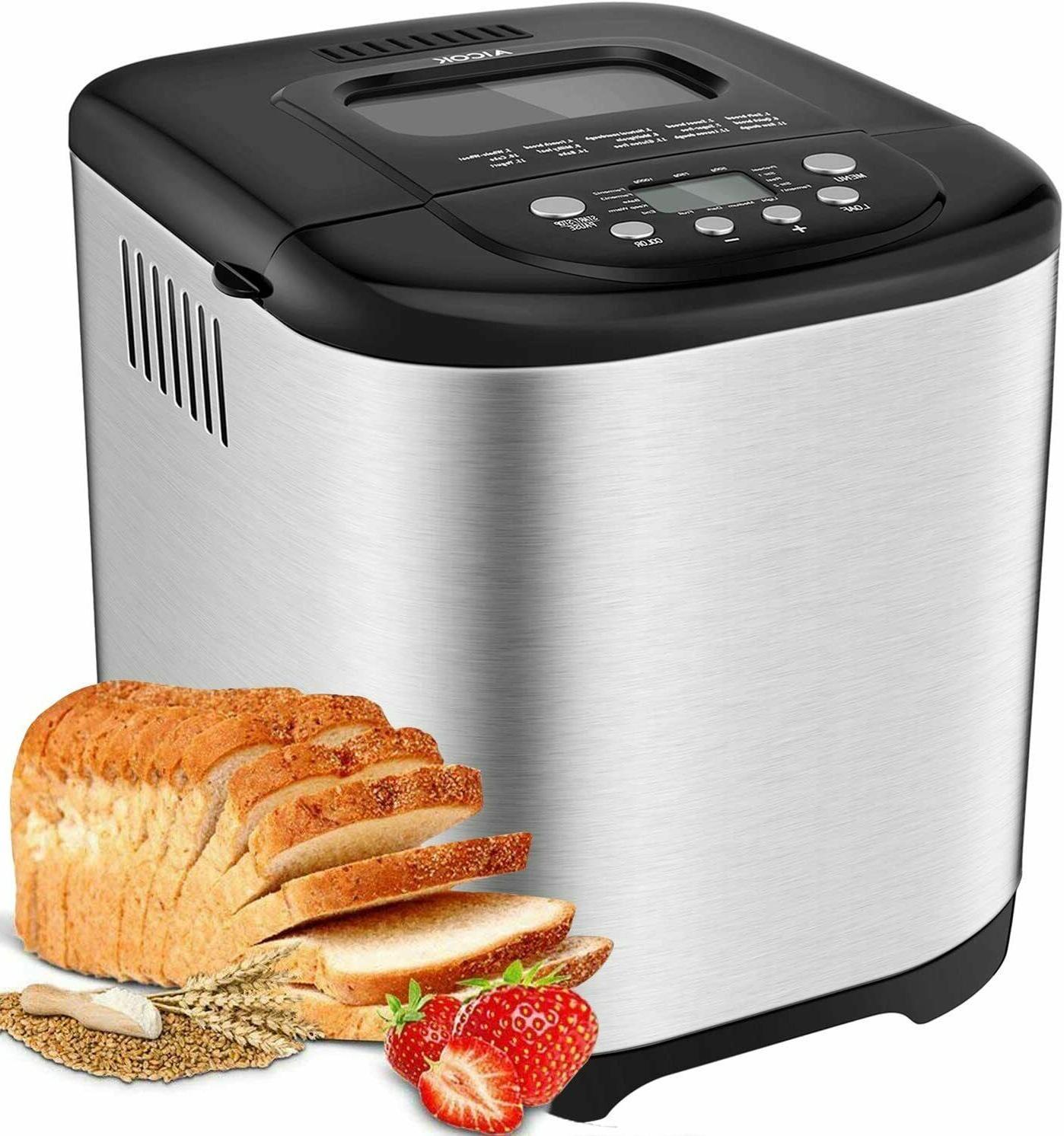 bread maker machine 2lb automatic programmable bread