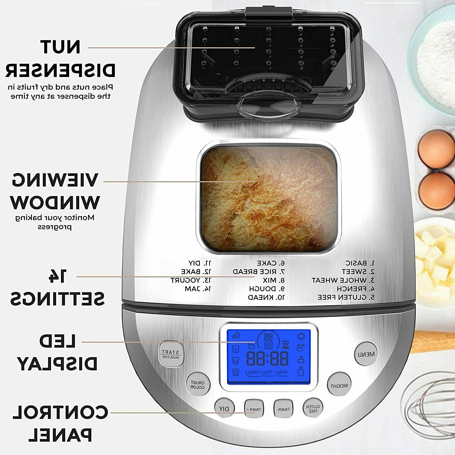 Stainless Steel Bread Bread Maker,