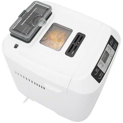 Bread Maker with Auto Nut Fruit Dispenser 12 Presets
