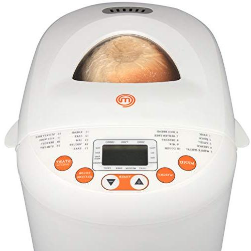 MasterChef Bread Programmable Settings and 13-Hour Timer- Included