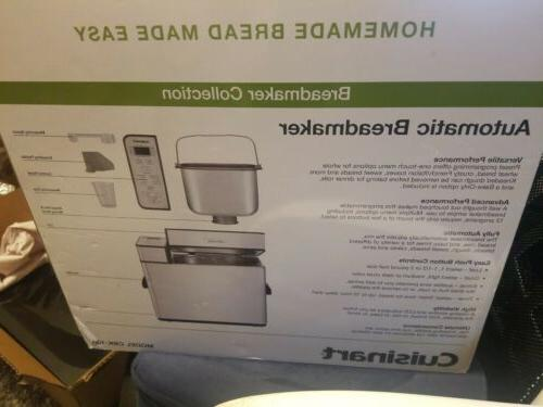 Cuisinart CBK-100 2-LB Automatic Programmable - New Box