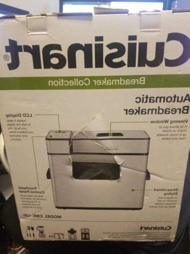Cuisinart CBK-100 Programmable Bread - New In