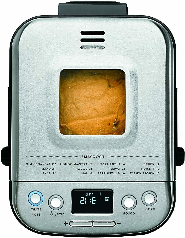 Cuisinart CBK-110P1 Bread Compact Machine 2lb Loaf *Fast
