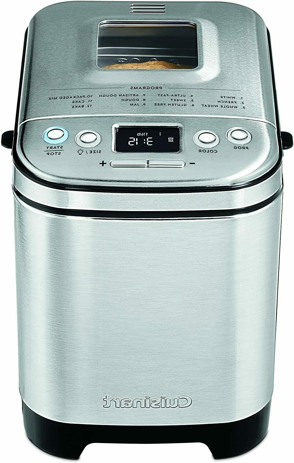 Brand New Cuisinart CBK-110 Compact Automatic Bread Maker Up