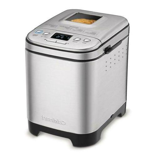 cbk 110 compact automatic bread maker silver