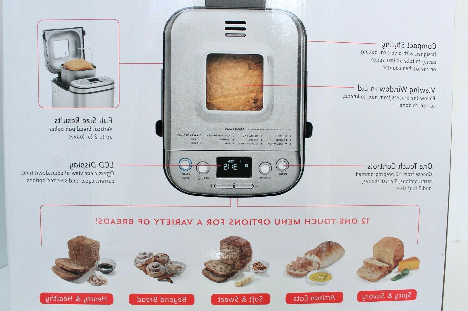 Cuisinart CBK-110M Compact 2 Bread IN HAND In