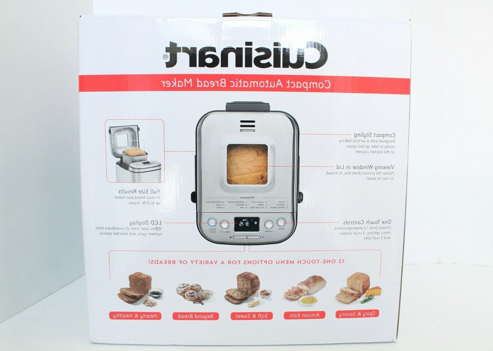 Cuisinart Automatic 2 LB IN HAND Brand New In Box