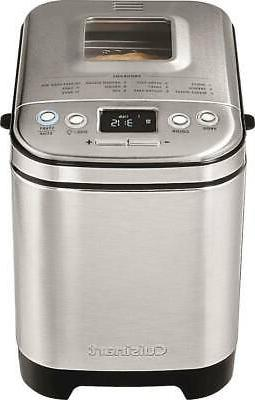 compact automatic bread maker stainless steel cbk