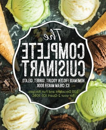 complete cuisinart homemade frozen yogurt sorbet gelato ice