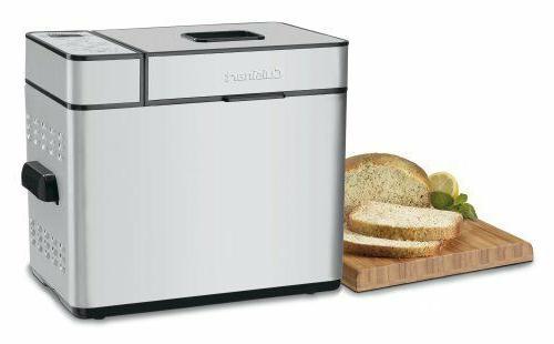 Cuisinart CBK-100 MACHINE, 2Lb Programmable Timer LCD BREAD MAKER