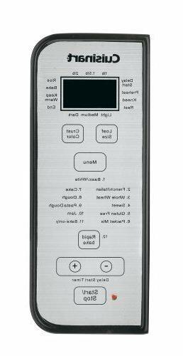 Cuisinart CBK-100 MACHINE, 2Lb Programmable LCD MAKER