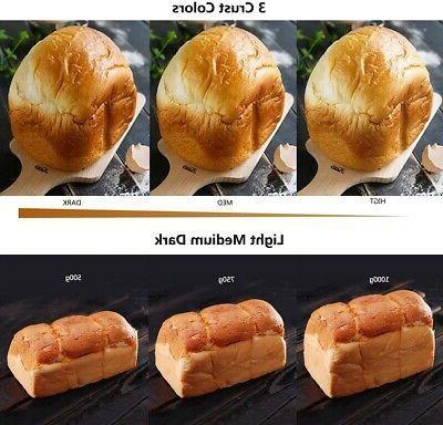 Bread Maker Stainless Steel Programmable Bread Machine