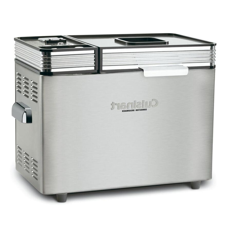 countertop stainless steel bread maker with removable