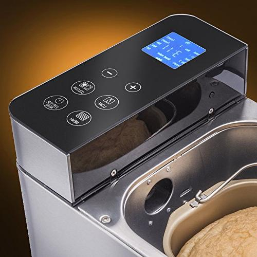Cravit Bread Maker FREE CREAM COMBO includes 19 programmable settings AND delicious Ice