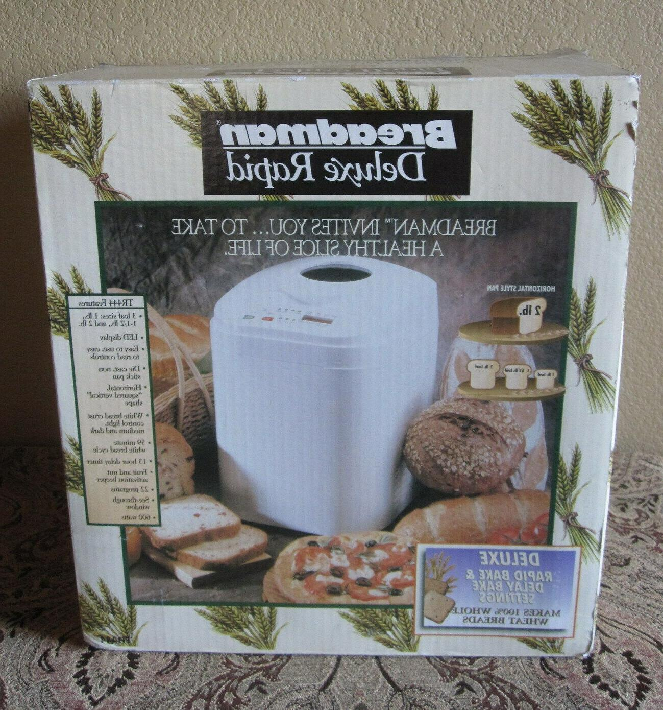 deluxe rapid 3 loaf size large capacity