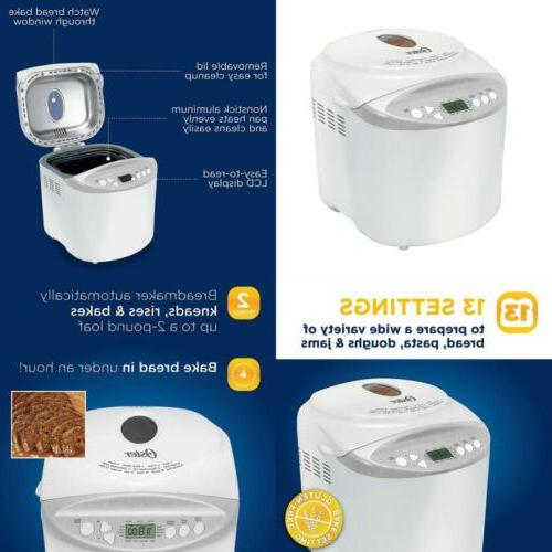 expressbake bread maker with gluten free setting