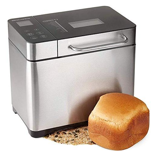 KBS Bread Machine, 19 Machine 3 Color, Hours Time LCD 2LB
