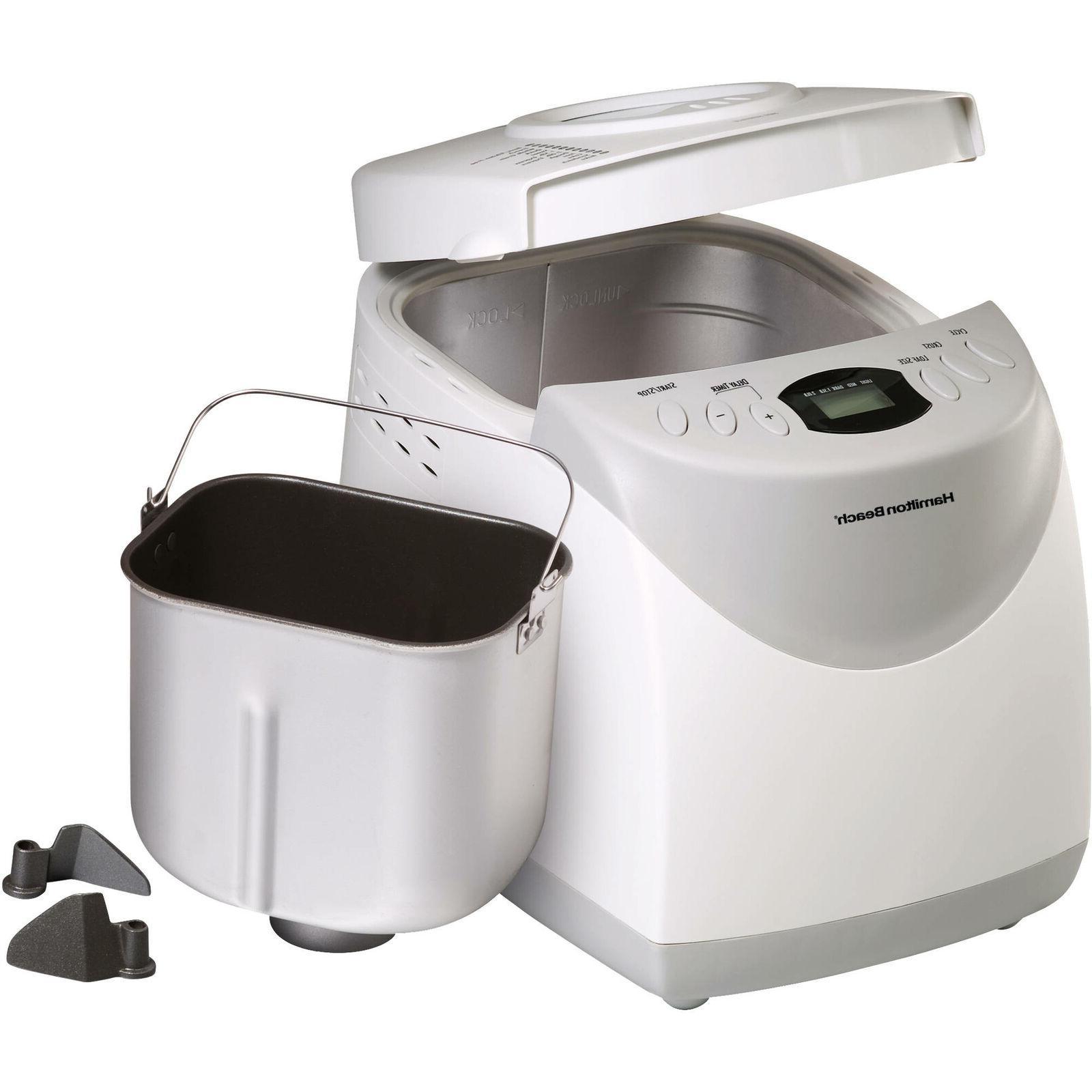 HomeBaker 2 Pound Automatic Breadmaker Gluten Free Set White