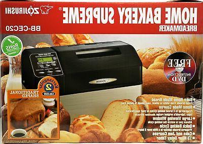 Zojirushi Home Bakery Supreme BB CEC20 2 Pound lb 2lb Loaf B