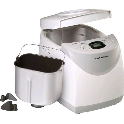 Hamilton Beach HomeBaker 2 Pound Automatic Breadmaker with Gluten Free...