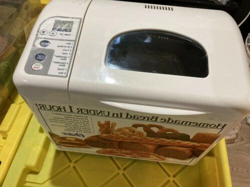 "Oster Bread Machine ""Express-bake"" Model White NEW"