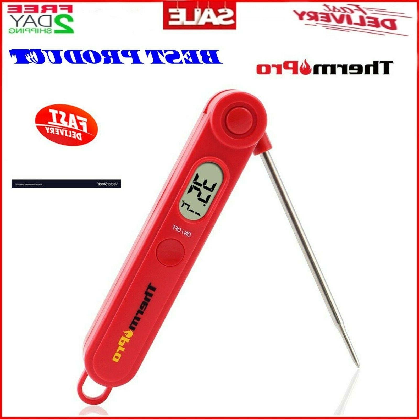 instant read digital food meat thermometer