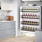 Kitchen Door Wall Mount Storage Shelf Pantry Holder Cabinet