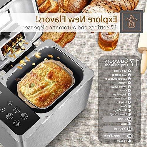 KBS Bread Machine Dispenser Control, 17 3 Crust Colors, 2-Exclusive