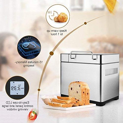 KBS MBF-010 Bread Dispenser LCD Touch-Pad Control, Crust 2-Exclusive Version