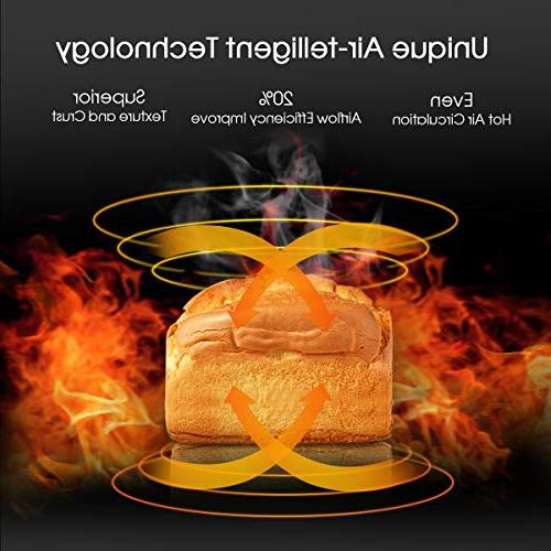 KBS Bread Machine Beginner Friendly Breadmaker 15 3 Colors, Wheat, Quiet Durability,