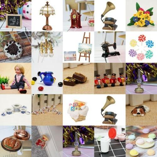miniature dollhouse fairy garden accessories mini christmas