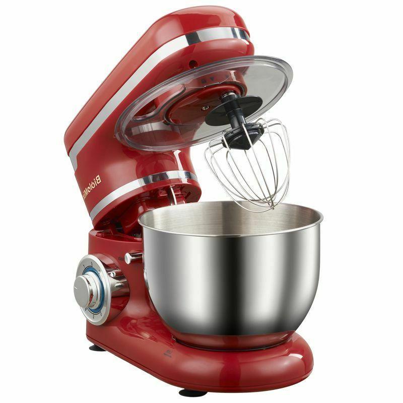 Mixer 1200W 4L Stainless Steel 6 Egg Blender Cake Bread Mixer