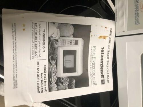 Toastmaster Model HearthBread Machine Oven w/