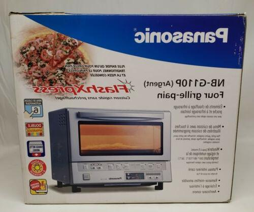 Panasonic NB-G110P Flash Programmable Oven Silver