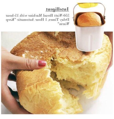 🔥 SKG Bread Machine 2LB Beginner Programmable