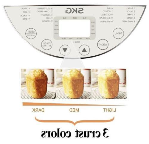 🔥 NEW! SKG Bread 2LB Beginner Maker