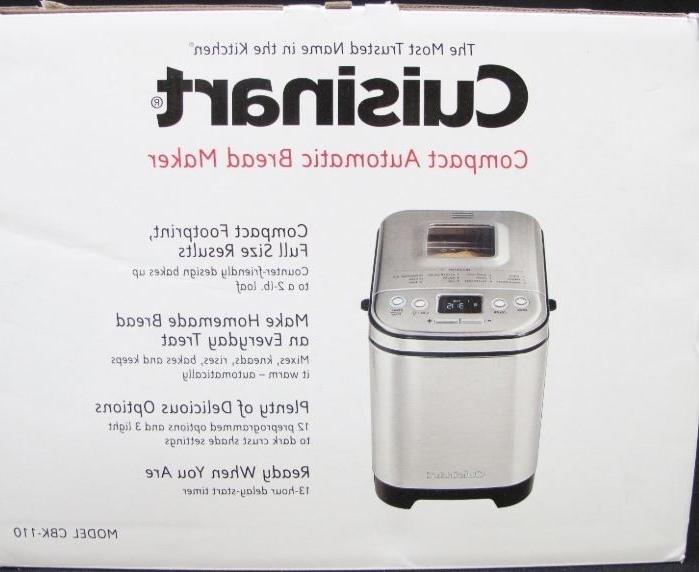 new cbk 110 compact automatic bread maker