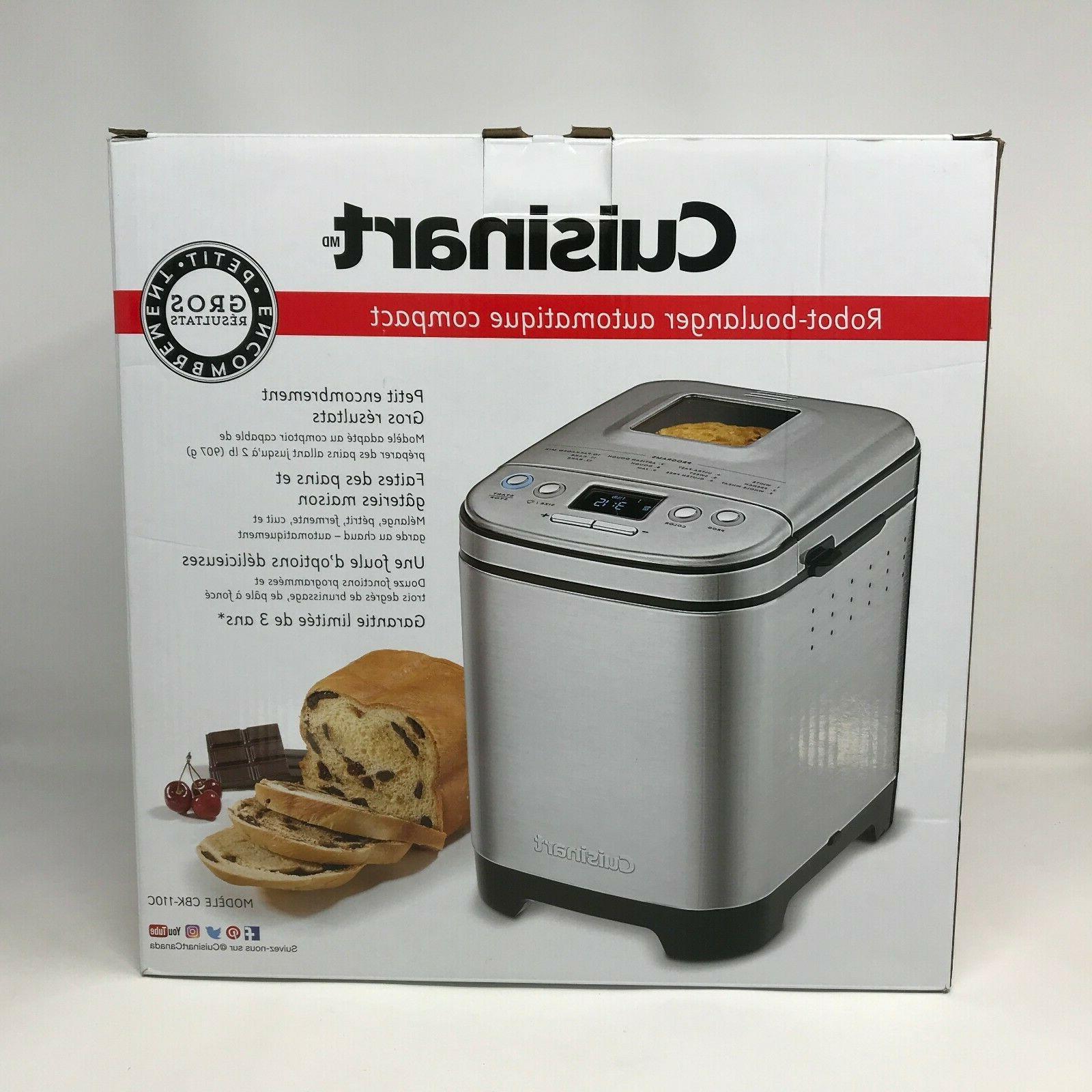 NEW Pound Automatic Bread Machine CBK-110