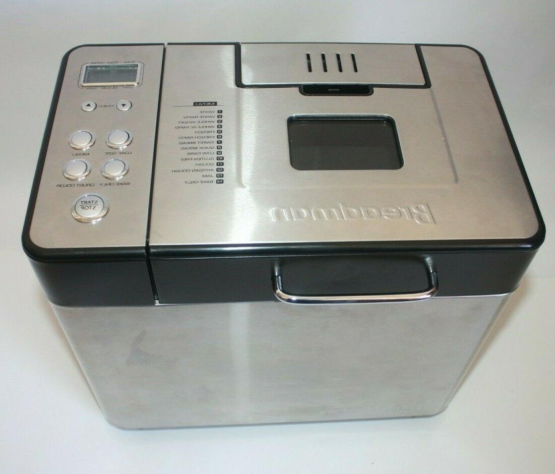 professional bread maker machine bk1050s stainless steel